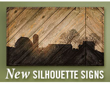 New Silhouette Signs