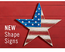 NEW Shape Signs