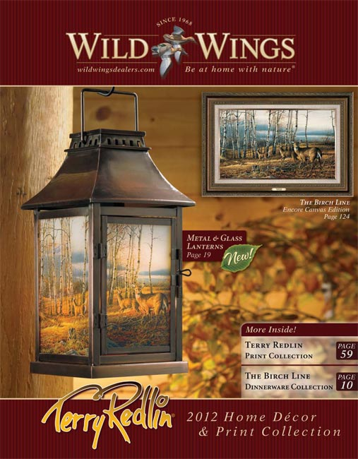Terry Redlin Wholesale 2012 Home D Cor And Print Catalog