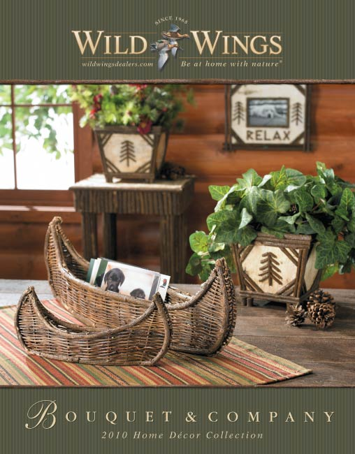 Bouquet co 2010 home decor catalog Design house catalog