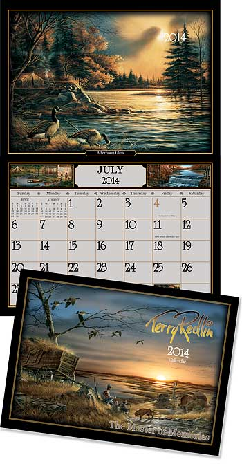 2014 Terry Redlin Art Calendar